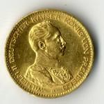 Preussen 20 Mark Kaiser Wilhelm II in Uniform Goldmünze kaufen wir zu Tagespreisen.