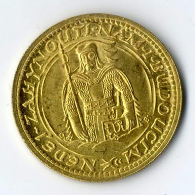 Doppeldukat als Bestandteil einer Münzensammlung, die im Kommissionsverkauf erfolgreich vermarktet wurde.