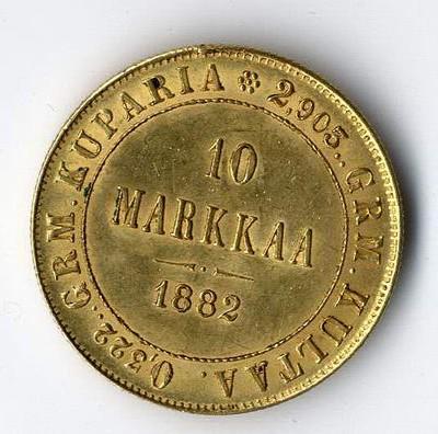 Goldmünzen, wie 10 Markkaa Finnland suchen wir im Kundenauftrag