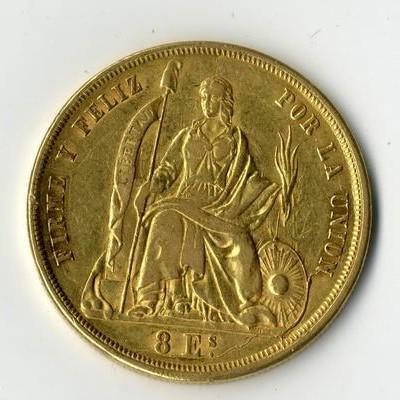 Rötliche Flecken bitte nicht von Goldmünzen entfernen.