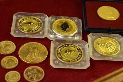Gutachten für Krugerrand, Maple Leaf, Nugget, Sovereign, Vreneli und weitere Münzen.