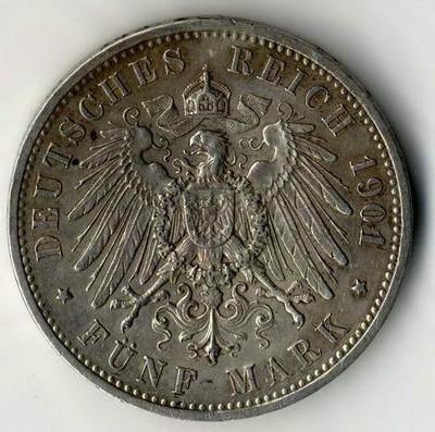 Die raten von der Reinigung von Silbermünzen des Kaiserreiches ab.
