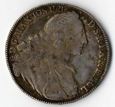 Alte Silbermünzen bitte nicht reinigen.