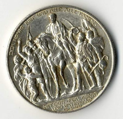 Die Silbermünze Preussens Der König rief und alle kamen können Sie mit ihren anderen Münzen zur Schätzung vorlegen.