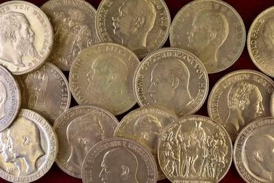 Taxierungen von Silbermünzen mit Verkaufsberatung in Wiesbaden.