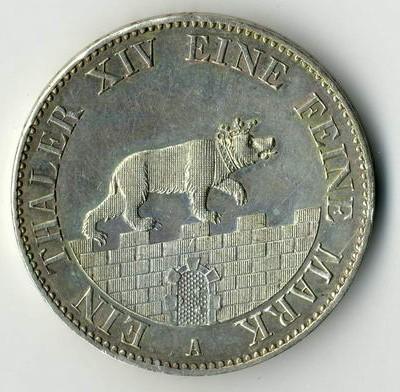 Kommissionsverkauf von Münzen aus Altdeutschland in Wiesbaden.