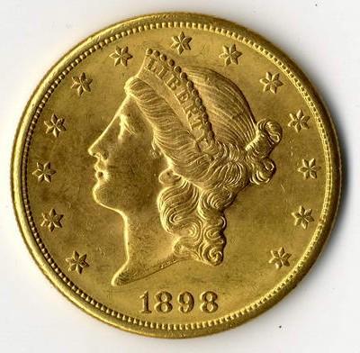 Double Eagle und andere USA-Goldmnzen, sowie Silbermünzen werden von uns übernommen.