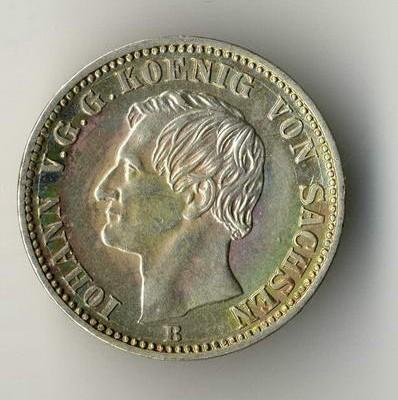 Kaiserreichmünzen mit Tönung, auch Patina genannt, sollten nicht gereinigt werden.