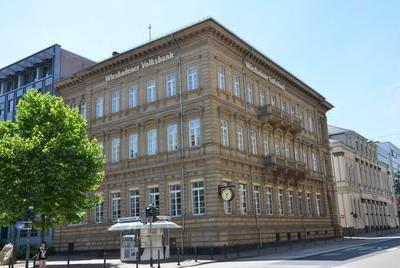 Kooperation im Münzenhandel mit der Wiesbadener Volksbank.