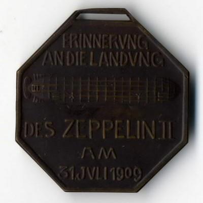 Höhere Bewertungen können grundsätzlich für ältere Zeppelinmedaillen ausgesprochen werden.