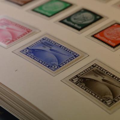 Briefmarken des Deutschen Reiches, Zeppelin, Chicagofahrt, postfrisch