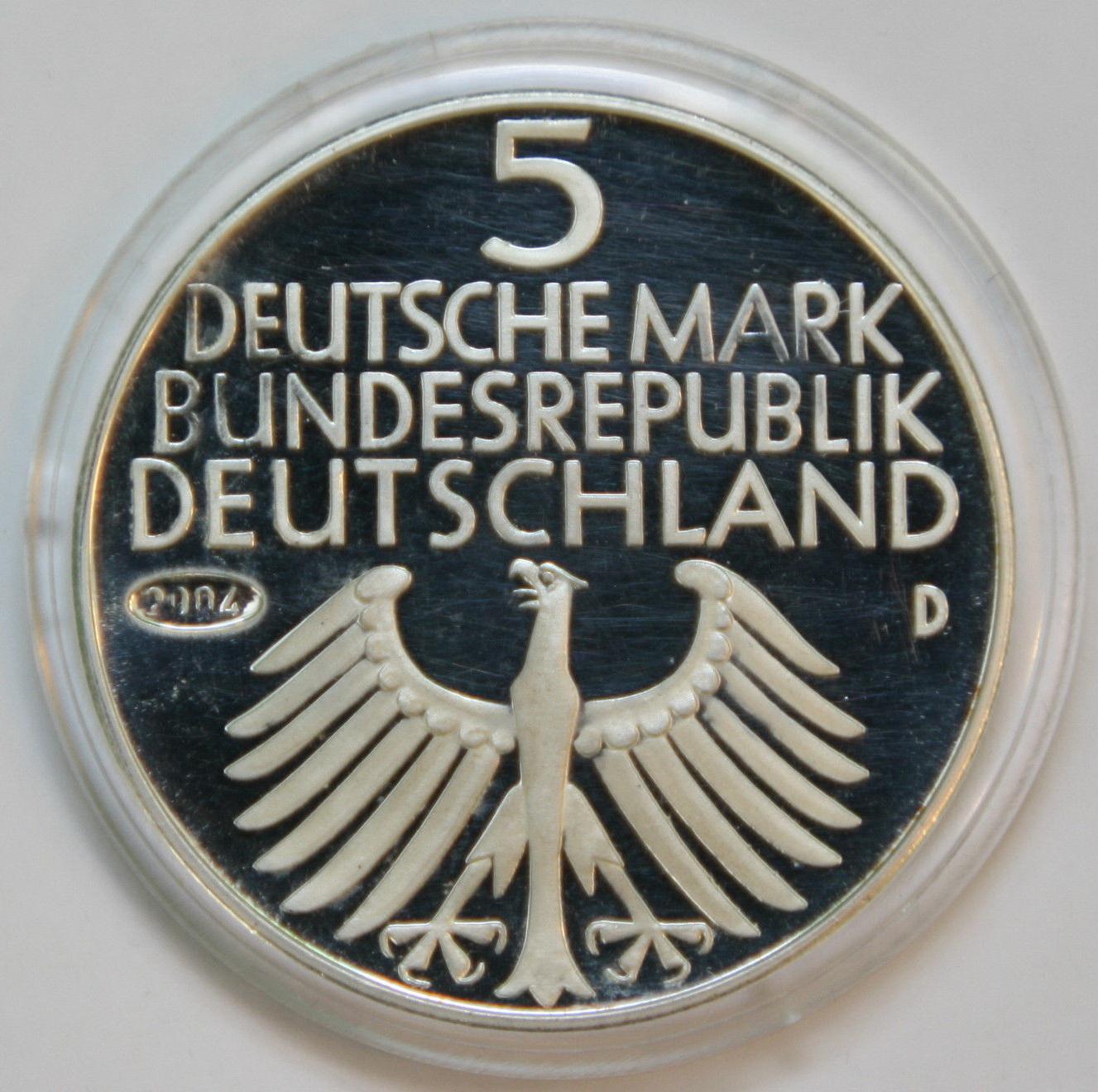 Germanische Museum Der Bundesrepublik Zu Dm 5 Von 1952