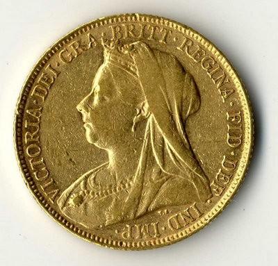 Grossbritannien Goldmünze Victoria 1 Sovereign