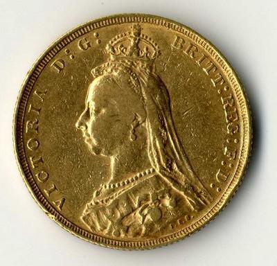 Grossbritannien Goldmünze Victoria 1 Sovereign Ankauf