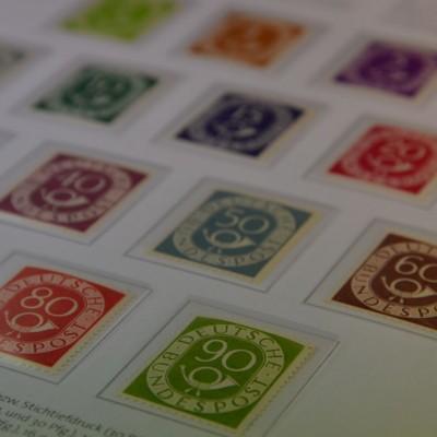Briefmarken der Bundesrepublik, Posthornsatz, postfrisch