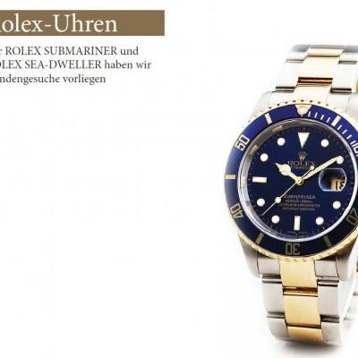 Rolex Uhren in Kommission und Ankauf