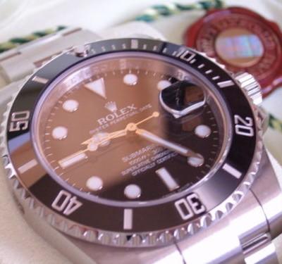 Rolex-Uhr 16610 in Stahl-Ausführung