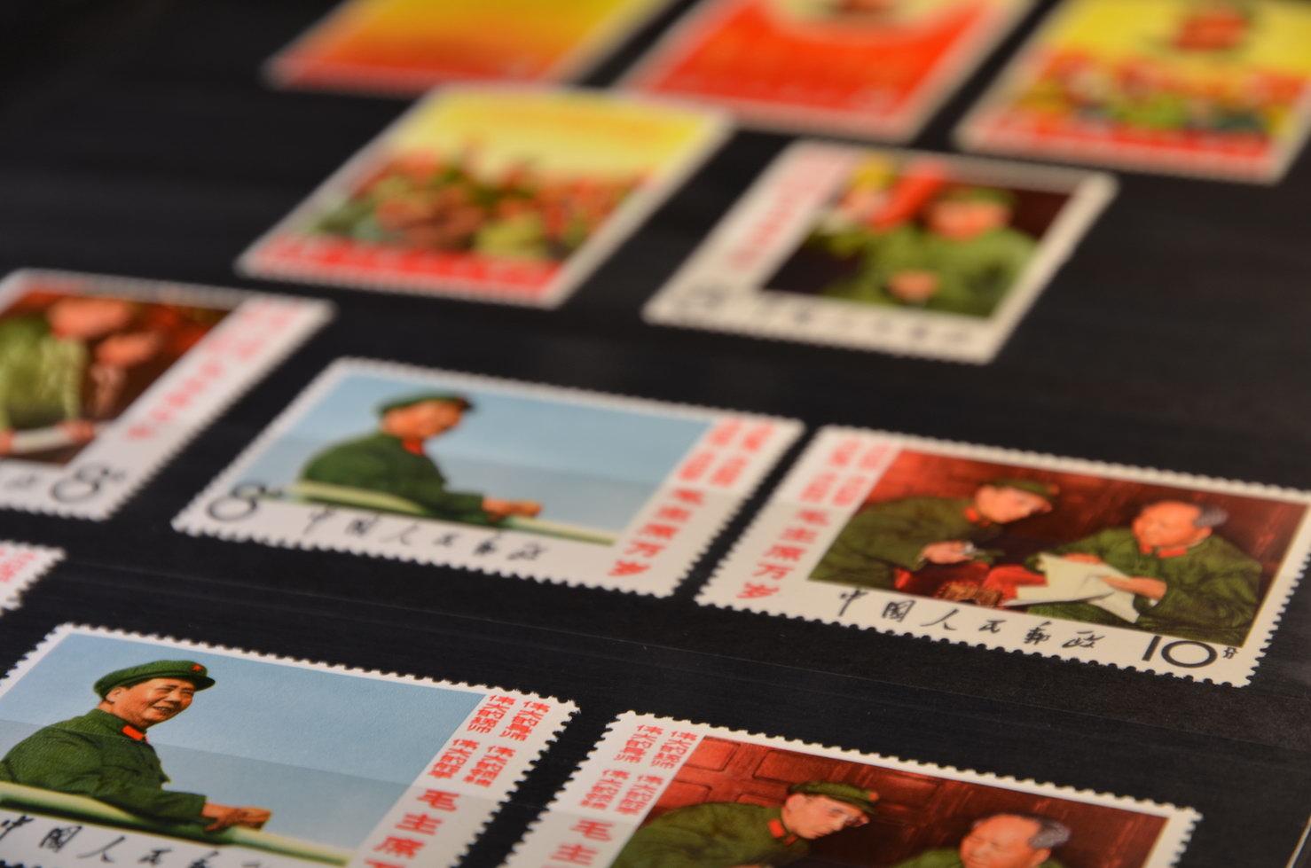 chinesische Briefmarken sind meist wertvoll